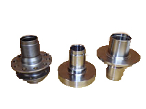 Custom hubs, in all flavors. Made from 4340 forged or billet depending on design.