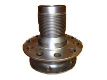 Custom hub, made from 4340, heat treated, post finished and shot premed for appearance and stress relief.