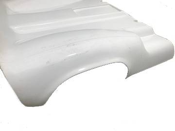 McLaren M1B WIDE body tail. (view 2).